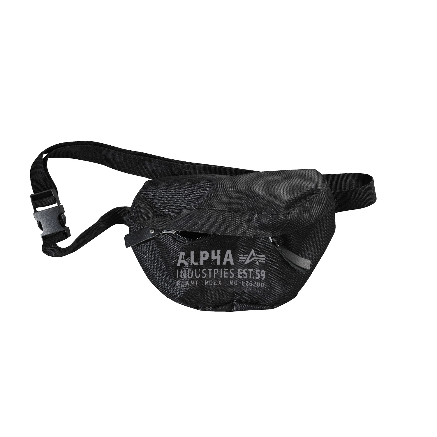 ledvinka CARGO OXFORD WAIST BAG black