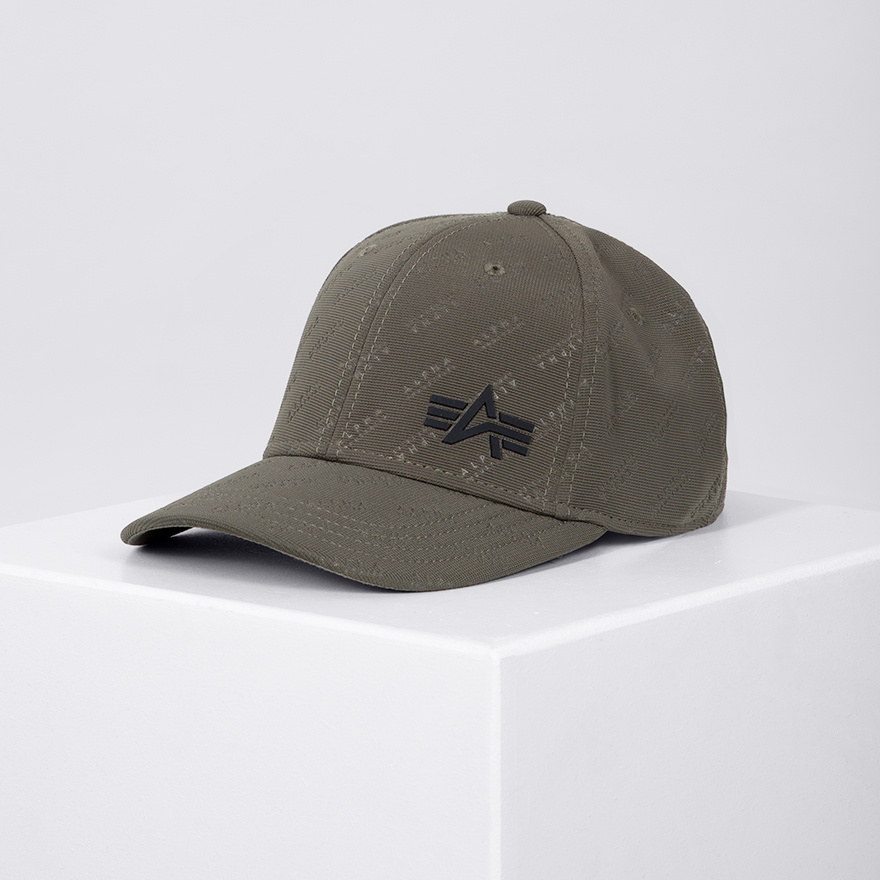 čepice Embossed Cap army green