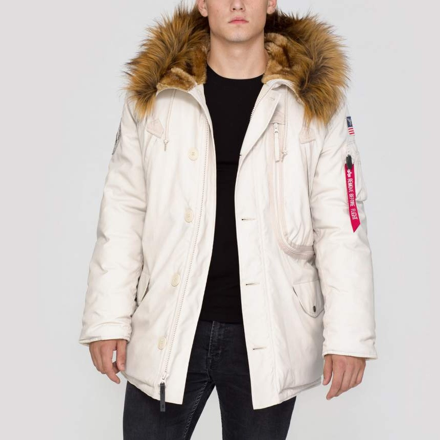 bunda POLAR JACKET off white