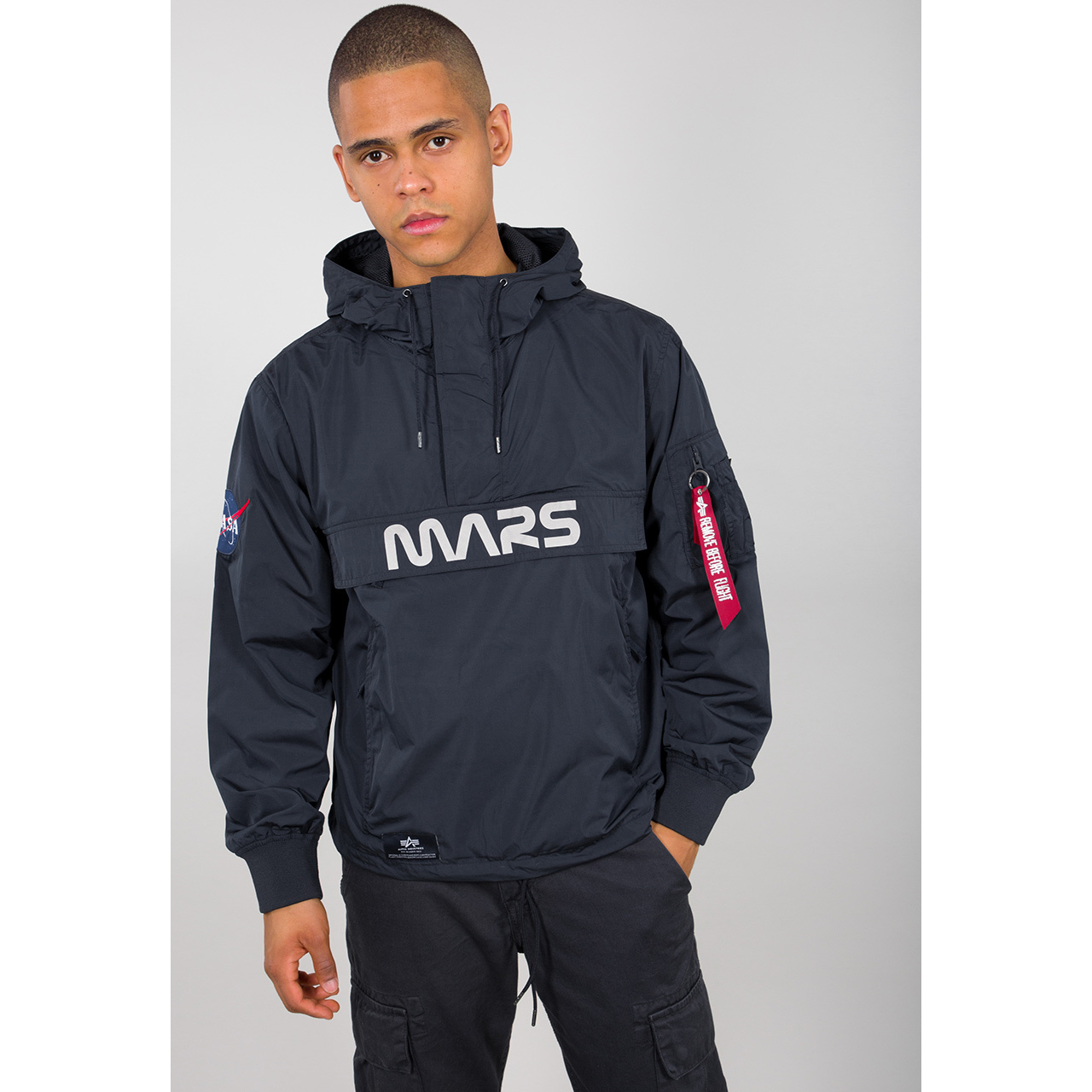 bunda Mars Mission Anorak rep.blue