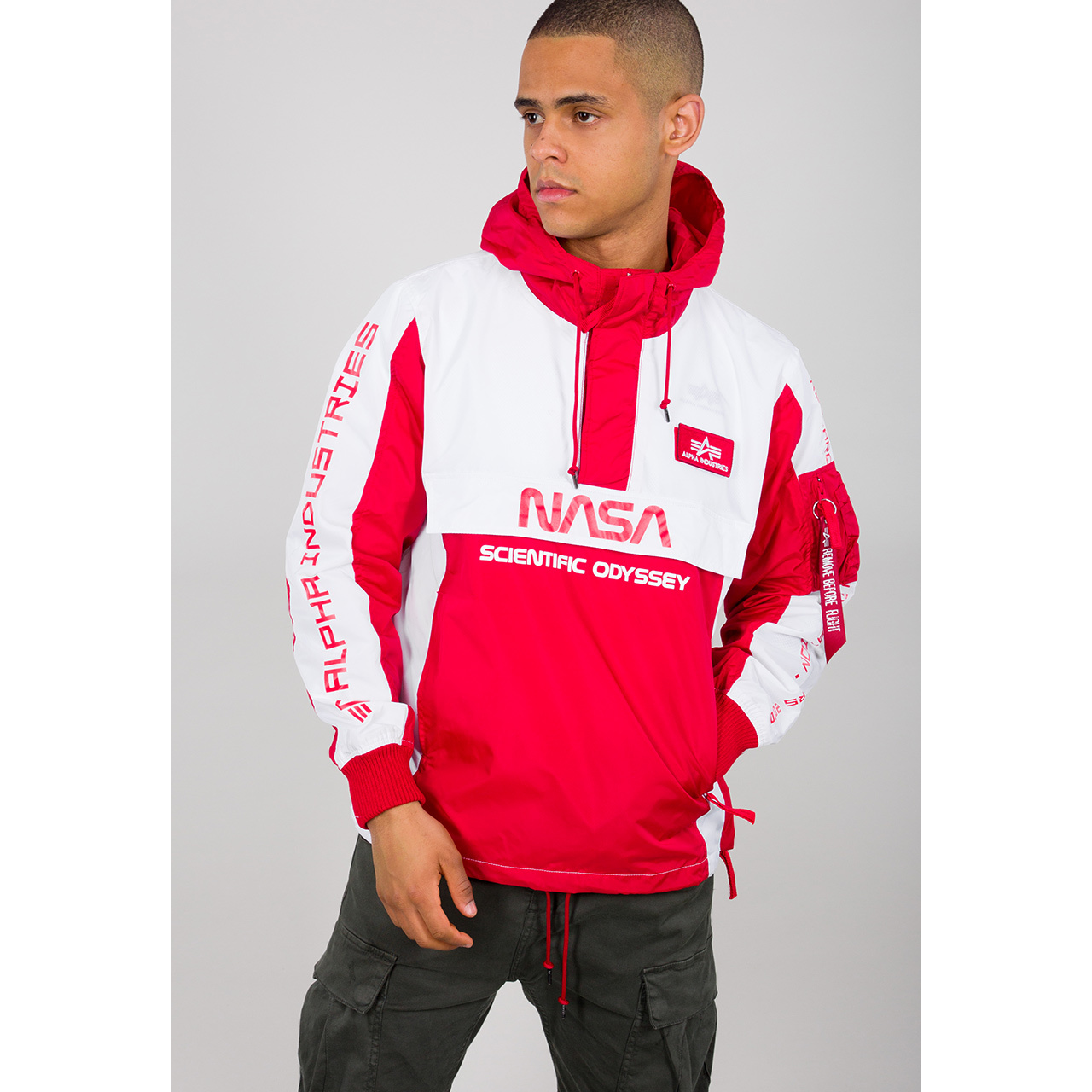 bunda Odyssey Anorak speed red