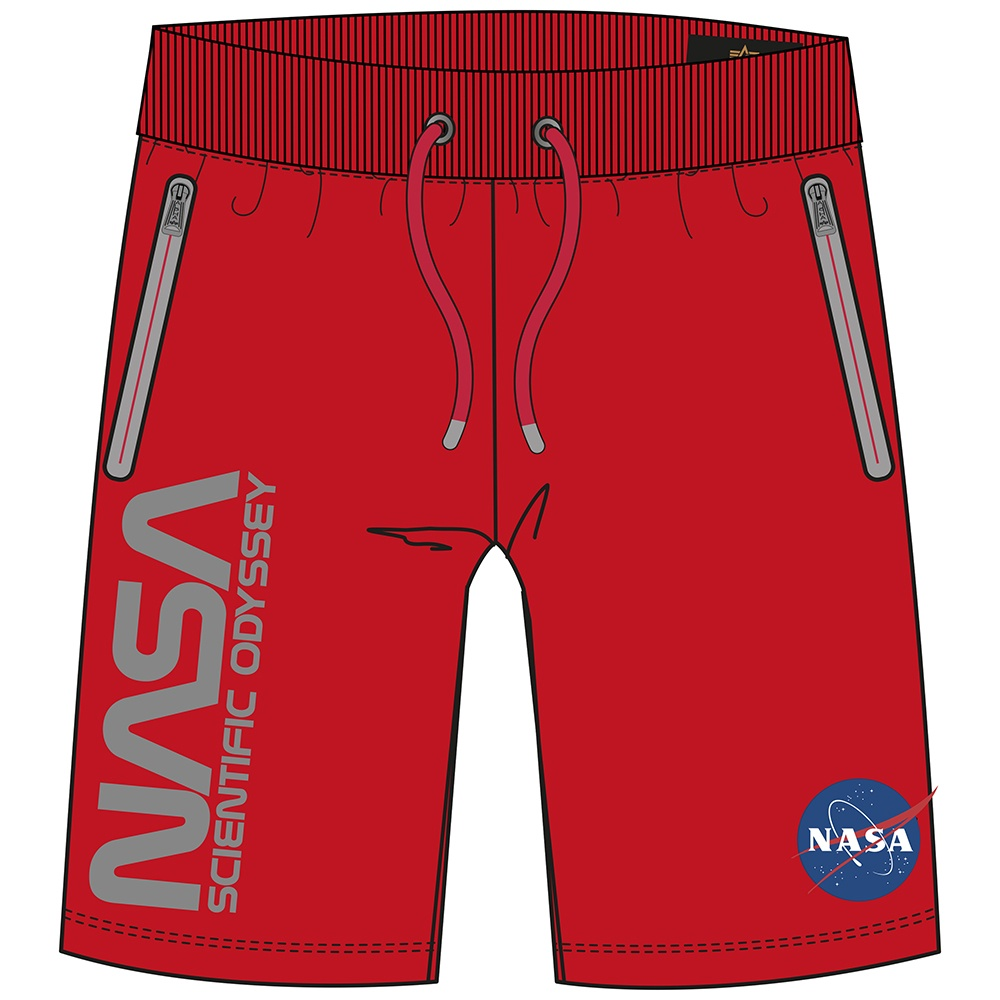 kraťasy Odyssey Short speed red