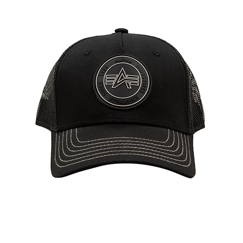 čepice Trucker Patch Cap black