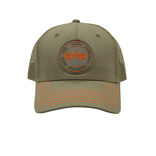 čepice Trucker Patch Cap dark green