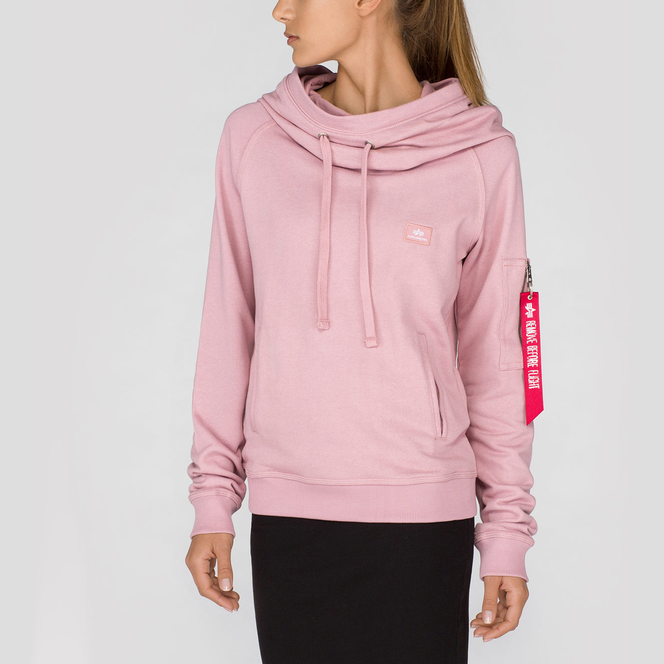 mikina X-Fit Hoody Wmn silver pink