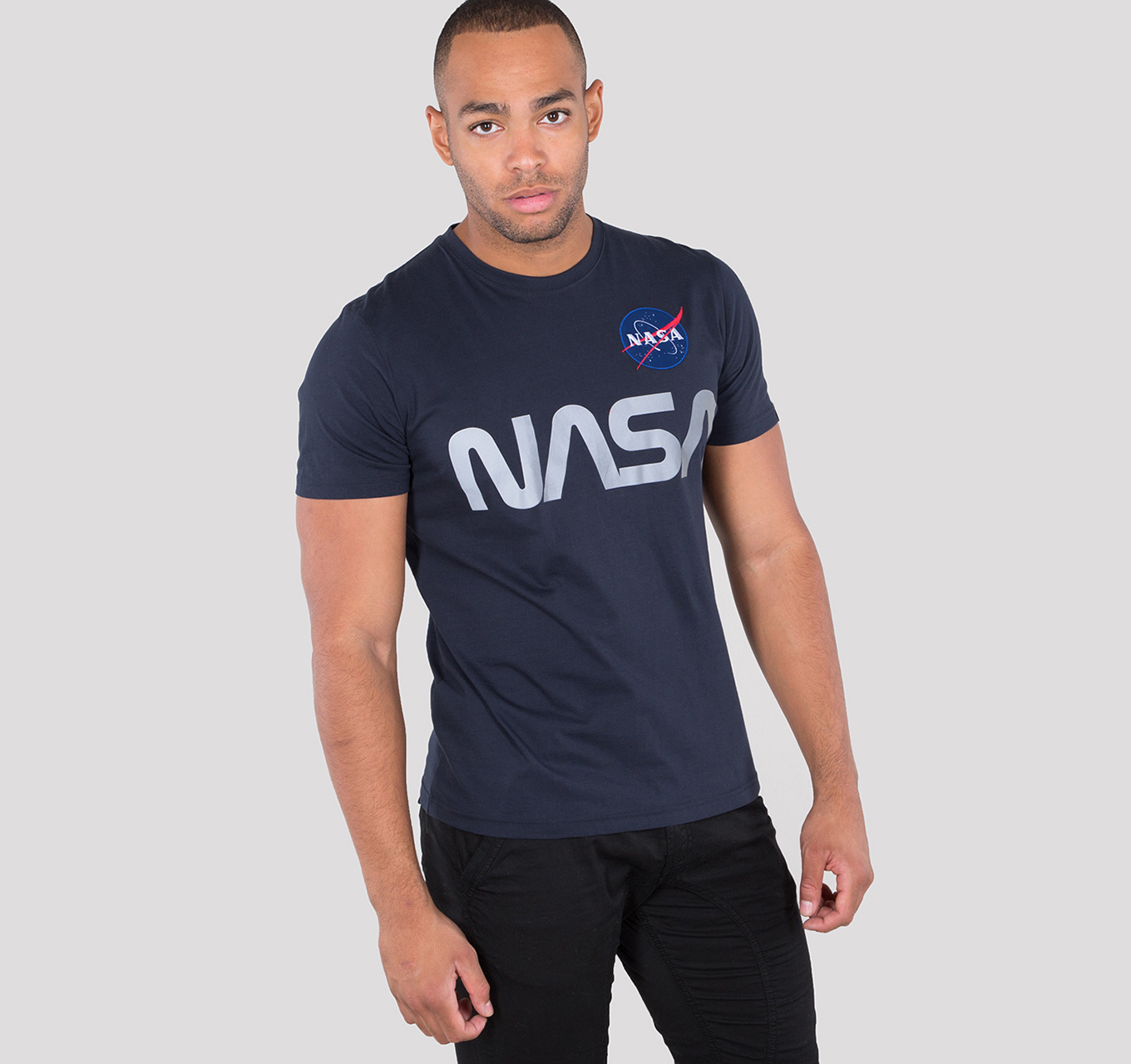 triko NASA REFLECTIVE T rep.blue