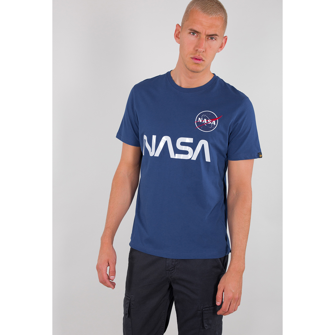 tričko NASA REFLECTIVE T nasa blue
