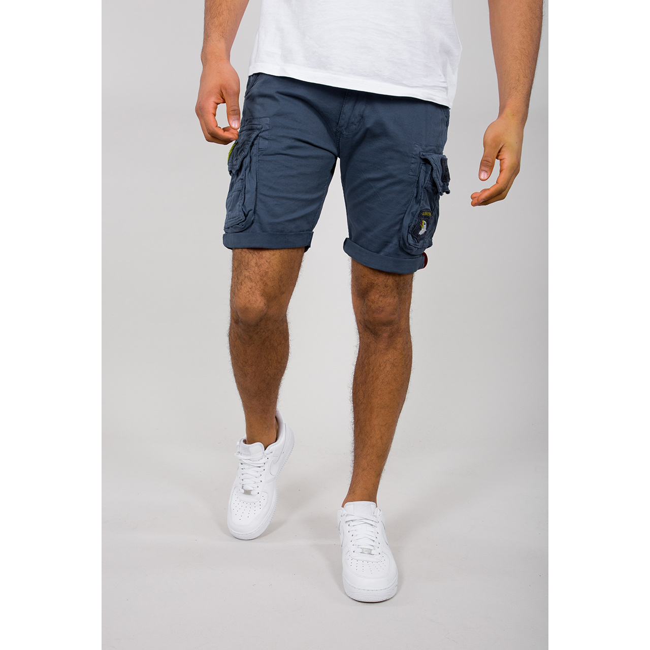kraťasy CREW SHORT PATCH new navy