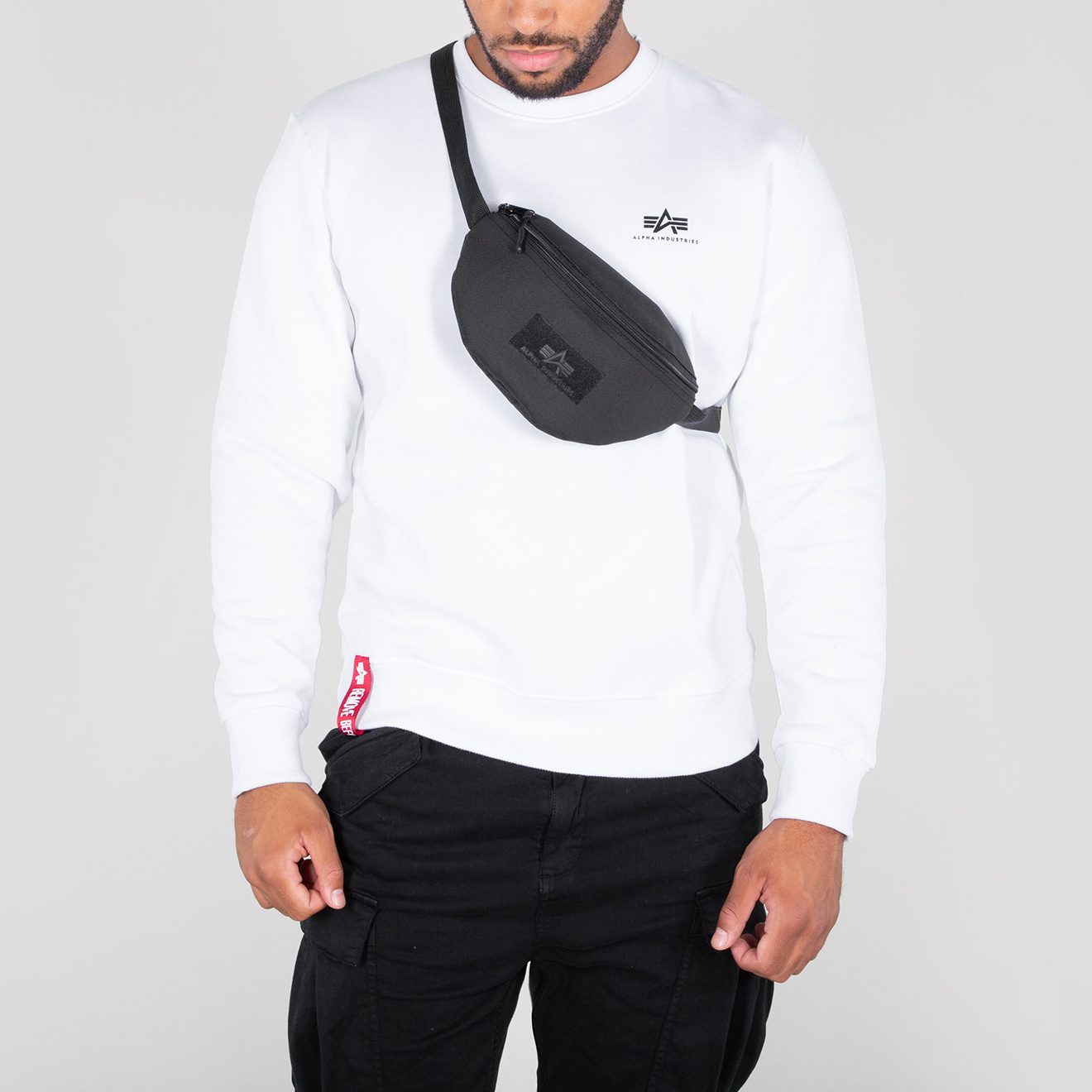 ledvinka Waist Bag VLC black