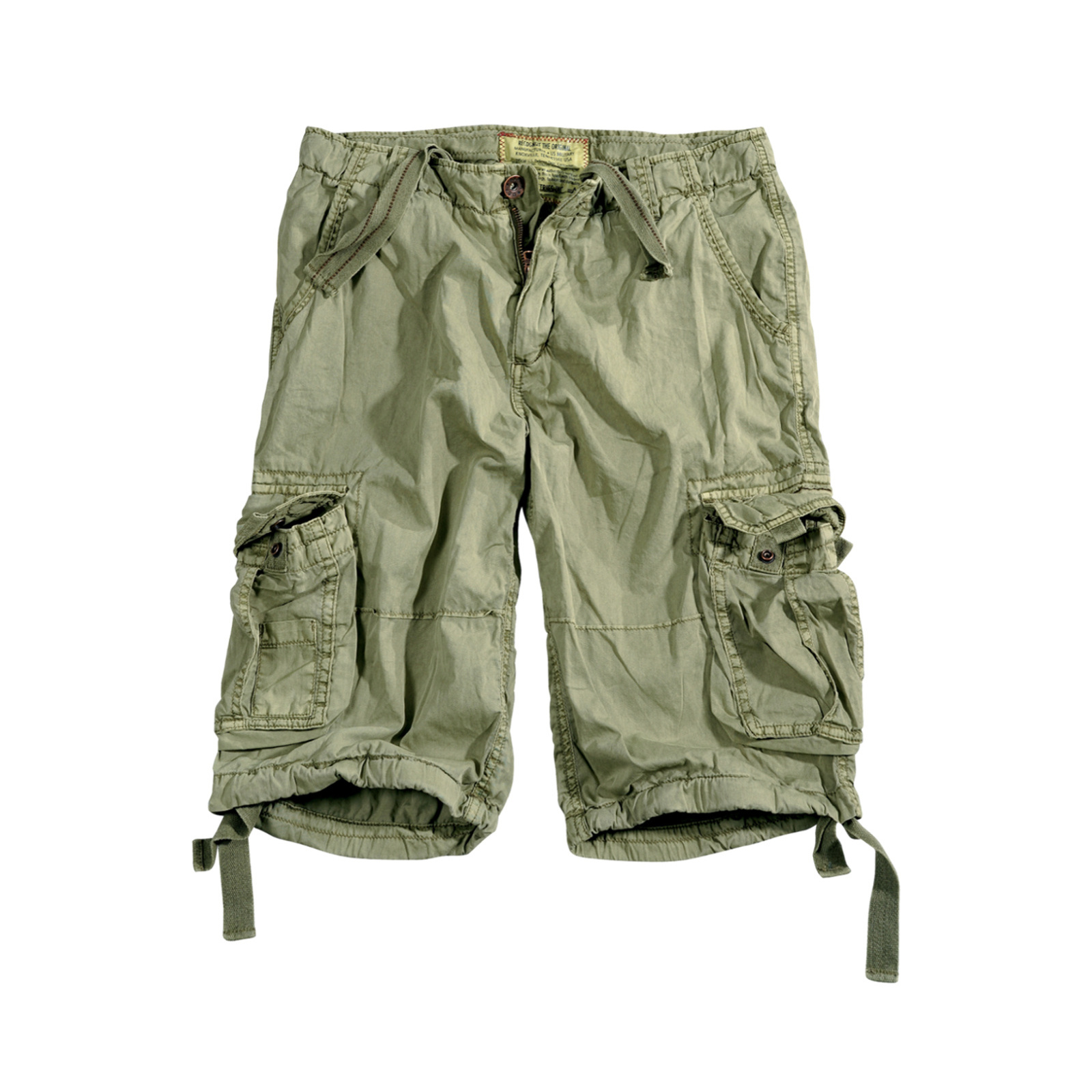 kraťasy JET SHORT light olive
