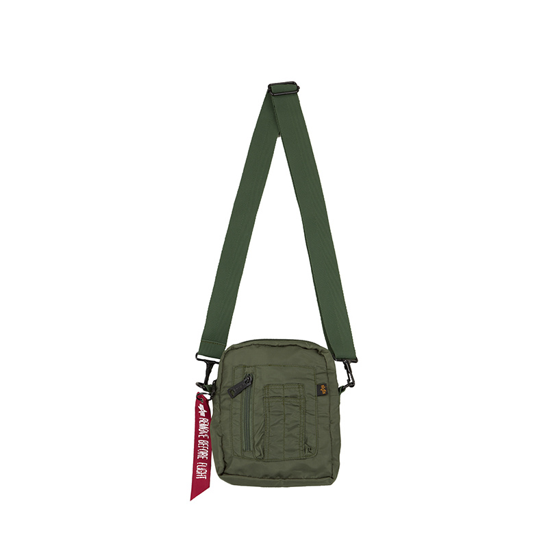 taška CREW CARRY BAG sage green