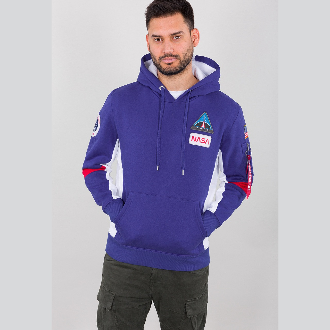 mikina Space Camp Hoody nautical blue