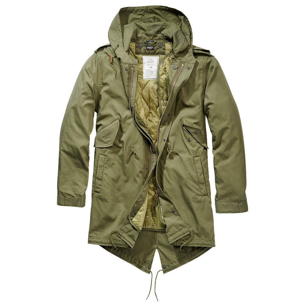 bunda M51 FISHTAIL US PARKA olivová