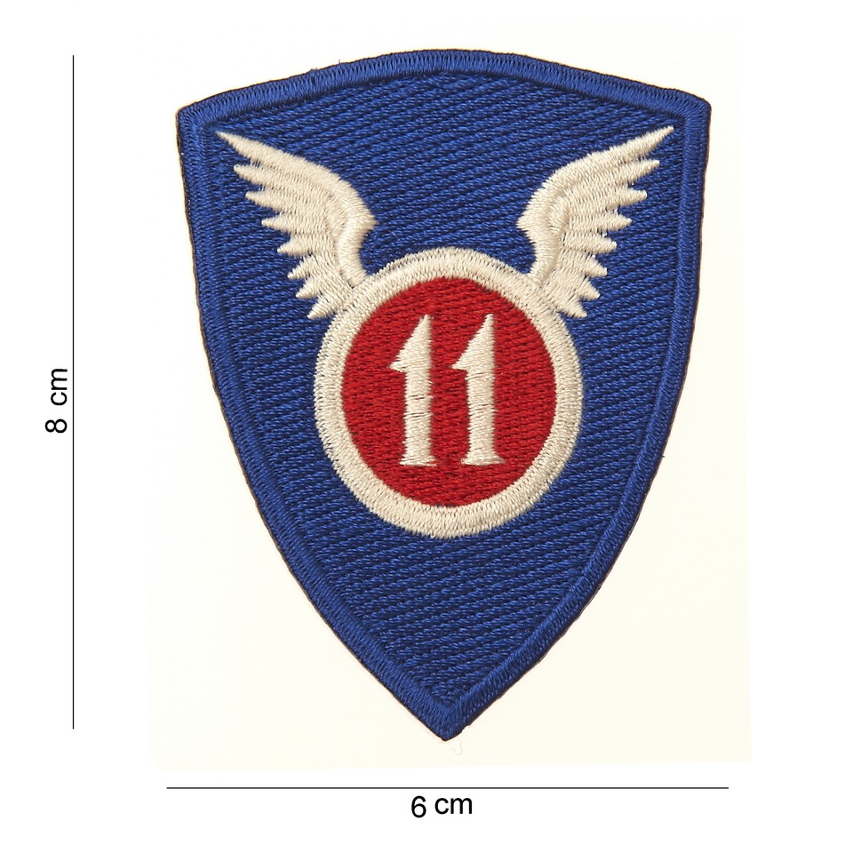 nášivka US 11th AIRBORNE DIVISION