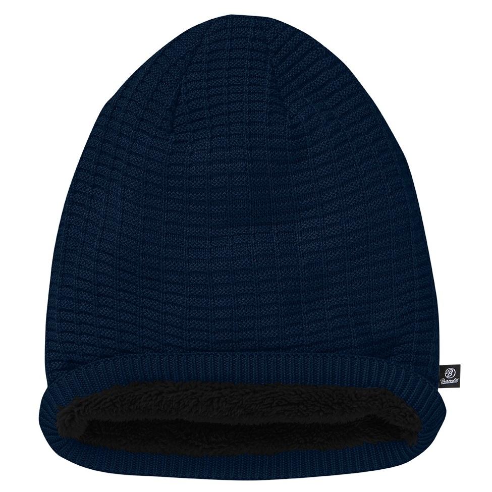 doprodej čepice BEANIE JOHN modrá navy  1e693e7686